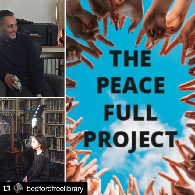 Had a great day with jeffenkler filming interviews for thepeacefullprojecthellip